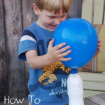 Frankenweenie Inspired Home Science Experiment: Inflate a Balloon