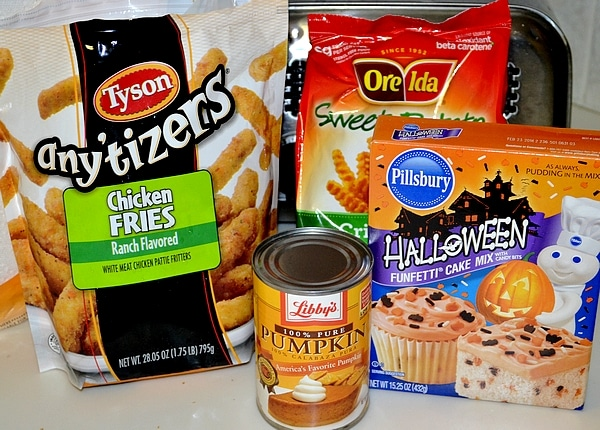 Halloween Party Food Ideas Any'tizers Ranch Fries #MealsTogether #Cbias