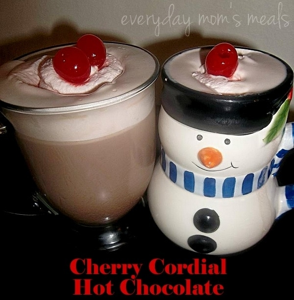 Cherry Cordial Hot Chocolate Recipe