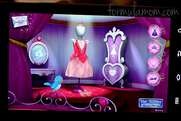 Disney Princess Augmented Reality App #DisneyPrincessWMT
