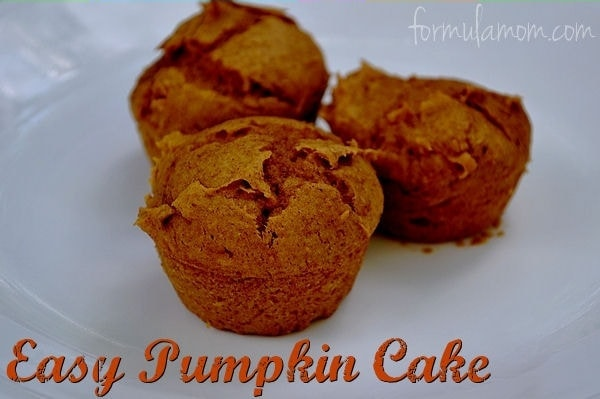 Easy Pumpkin Cake #Thanksgiving