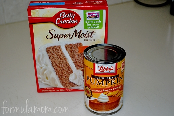 Easy Pumpkin Spice Cake Muffin Recipe