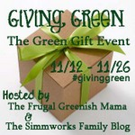 Giving Green Giveaway