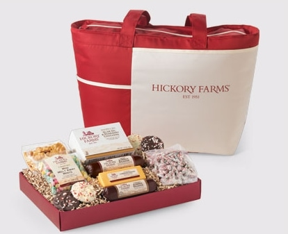 Hickory Farms Pack and Go Picnic Tote Holiday Gift Idea
