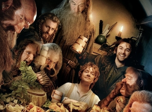 Hobbit Opening Night Party