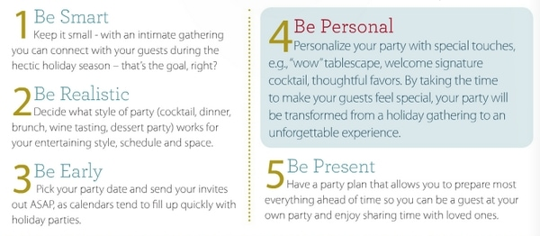 Holiday Entertaining Tips #HolidayGuide