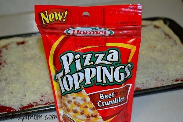 Hormel Pizza Toppings #HormelFamily