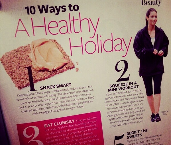 Stay healthy this holiday with InStyle magazine #PollinateMedia