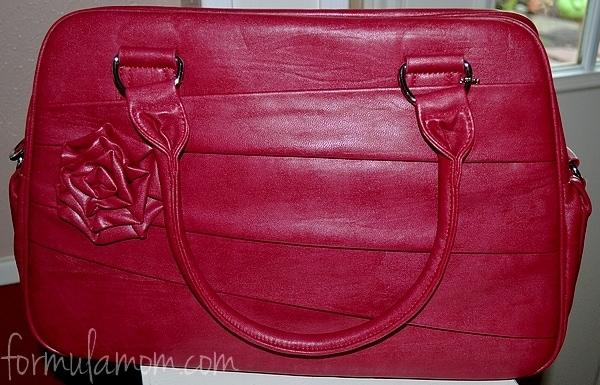 Jo Totes Camera Bag - Rose in Raspberry