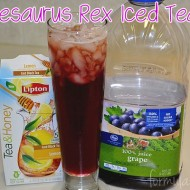 Lipton Family Tea Time with Purplesaurus Rex Iced Tea! #FamilyTeaTime #Cbias