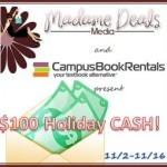 Campus Book Rentals Holiday Cash