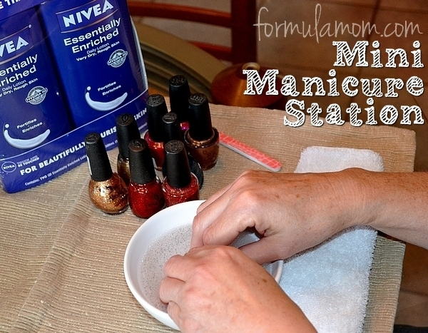 NIVEA Mini Manicure Station #NIVEAmoments