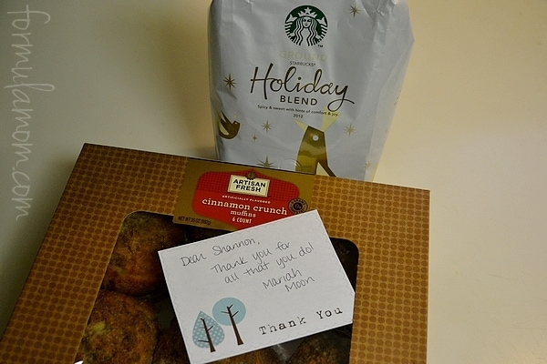 Saying Thank You with Starbucks Holiday Blend #DeliciousPairings #Cbias
