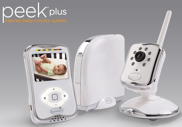 Summer Infant Peek Plus Monitor #NGgiftguide