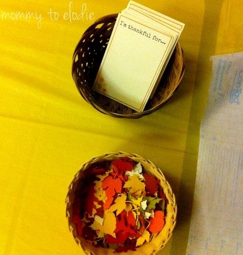 Thanksgiving Craft: I am Thankful...