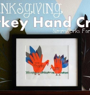 Thanksgiving Turkey Hand Craft #Thanksgiving