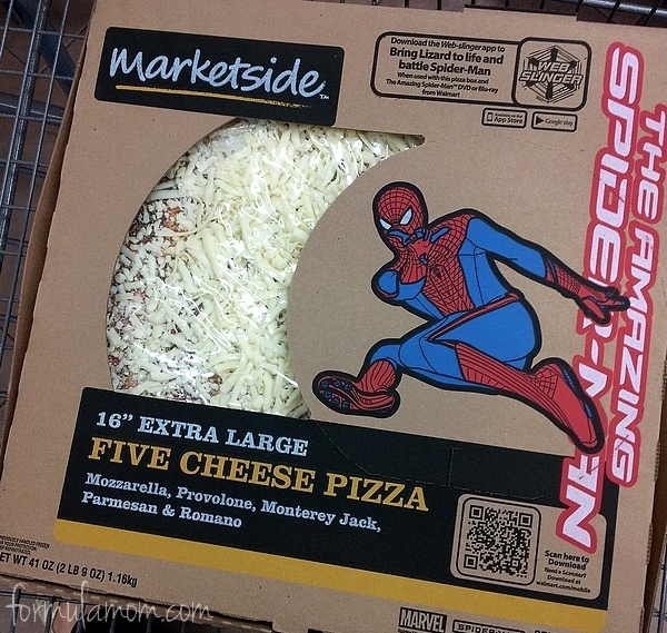 The Amazing Spider-Man  Walmart Marketside Pizza #SpiderManWMT #Cbias