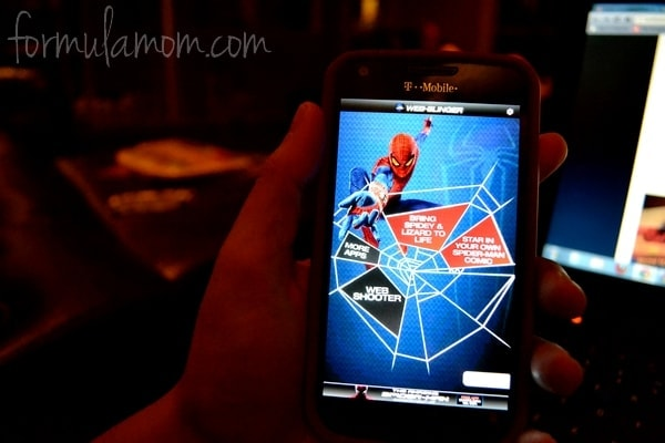 The Amazing Spider-Man Family Movie Night #SpiderManWMT