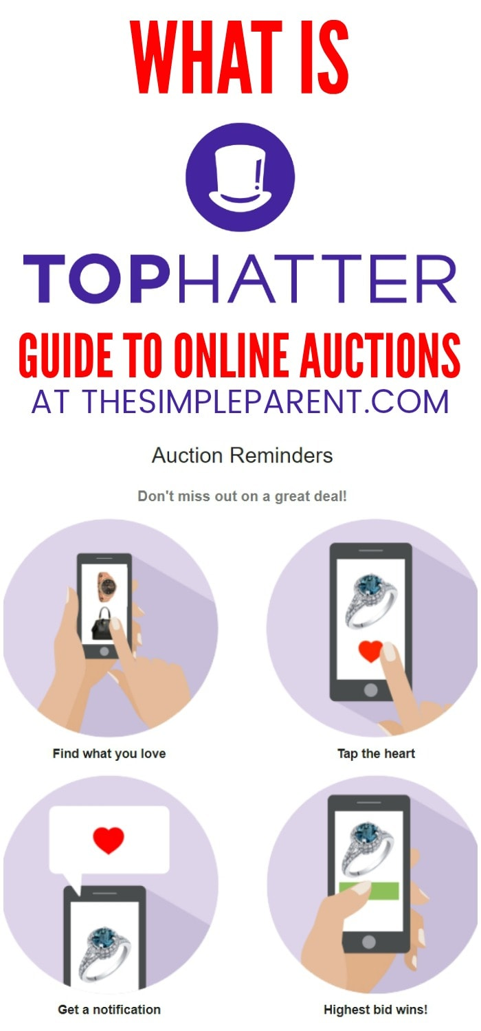 What is Tophatter? If you're looking for online auction sites to buy and sell on. There is an alternative to Ebay! For fast-paced auctions and and quick gift ideas, you can bid for free on the items on Tophatter! Learn more about why it's a great option for online auction sites!