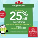 Holiday Shopping with Carter's Cyber Monday