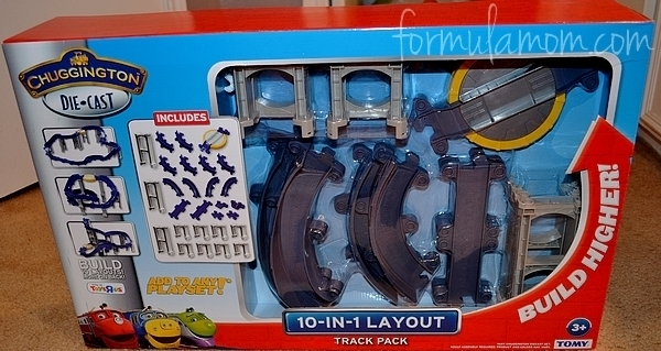 Chuggington Die Cast 10-in-1 Layout