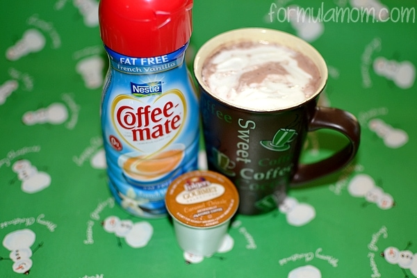 Coffee Mate French Vanilla Caramal Coffee #UltimateCup #Cbias