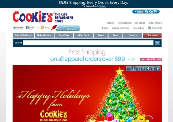 Easy Holiday Shopping at Cookie's Kids #CookiesKids