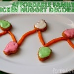 Decorating Holiday Chicken Nuggets #MealsTogether