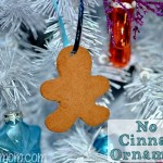 No Bake Cinnamon Ornaments