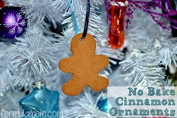 Easy No Bake Cinnamon Ornaments