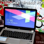 HP Envy 4 TouchSmart UltraBook Meets the Family #PinTheHalls
