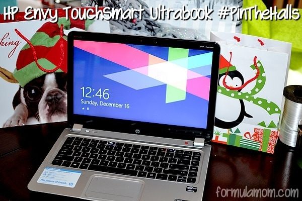 HP ENVY 4 TouchSmart Ultrabook #PinTheHalls