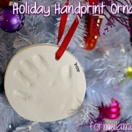 Easy Holiday Handprint Ornament Kit