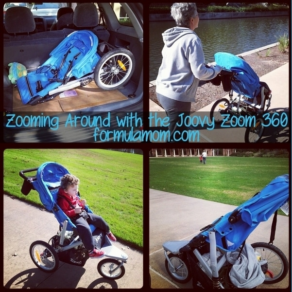Zooming Around with the Joovy Zoom 360