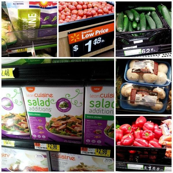 Lean Cuisine Salad Additions at Walmart #BYOL #Cbias