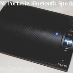 Music on the Go with NYNE Portable Bluetooth Speaker