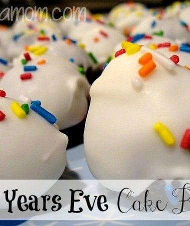 New Year's Eve Cake Balls Recipe