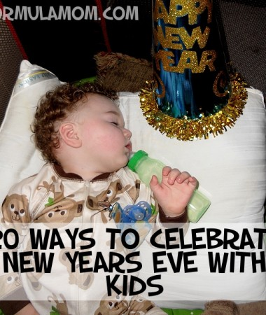 Ways to Celebrate New Years Eve with Kids