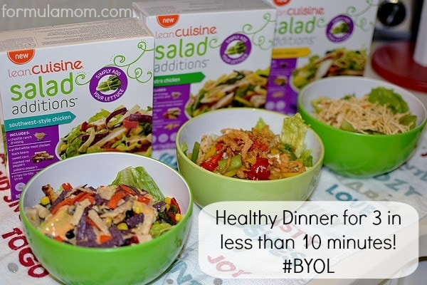 The easiest salad recipe done in less than 10 minutes! #BYOL #Cbias