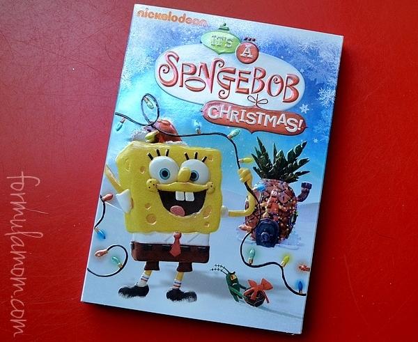 SquarePants: It's a SpongeBob Christmas DVD