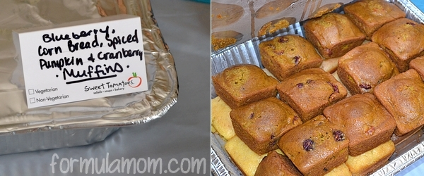 Sweet Tomatoes Catering Muffins