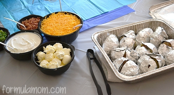Sweet Tomatoes Catering Baked Potatoes