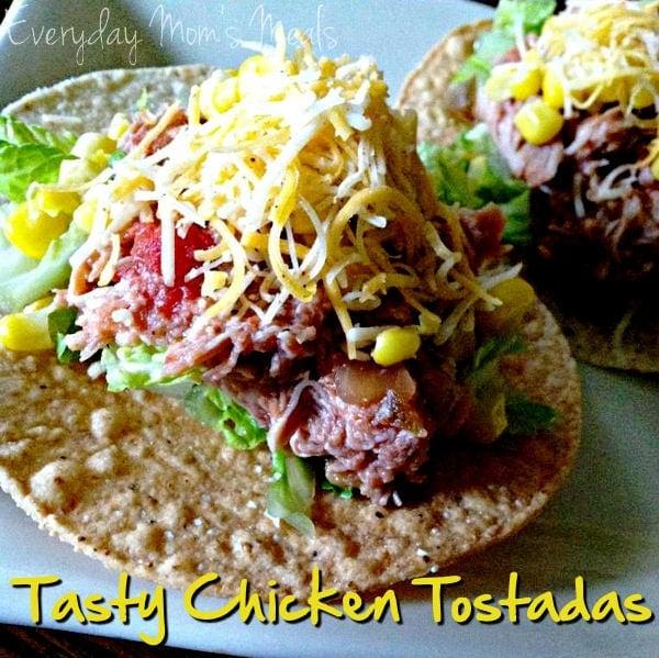 Tasty Chicken Tostadas Recipe