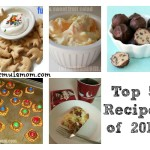 Top 5 Family Recipes at Formula Mom in 2012