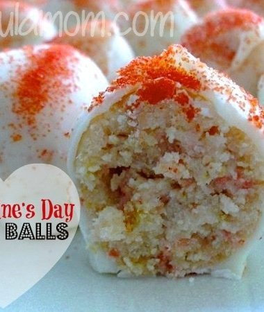 Valentine's Day Cake Balls Recipe