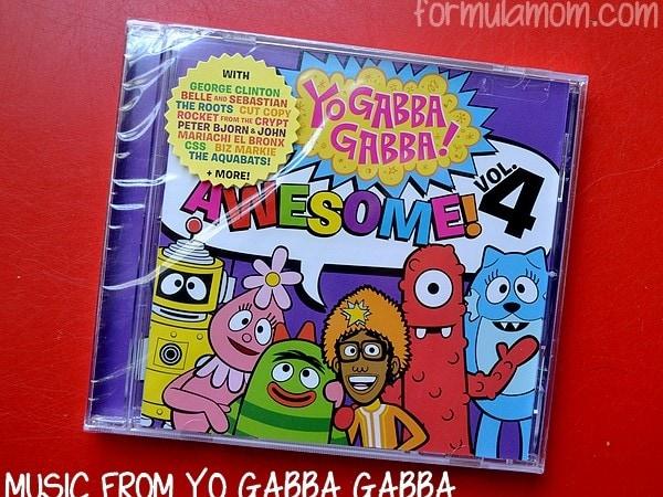 Yo Gabba Gabba Music is Awesome!