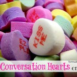 14 Conversation Hearts Crafts and Recipes  #valentinesday