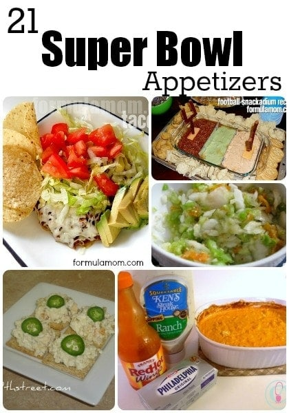 21 Super Bowl Appetizers Recipes #superbowl