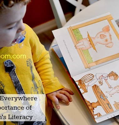 Caring Is Everywhere:The Importance of Children's Literacy