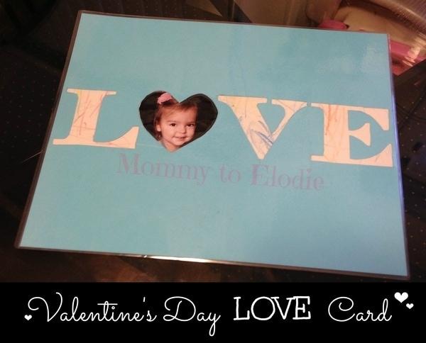 DIY Valentine's Day Card #valentinesday #crafts
